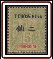 Tch'ong-K'ing - Bureau Indochinois - N° 35 (YT) N° 35 (AM) Neuf *. - Nuevos