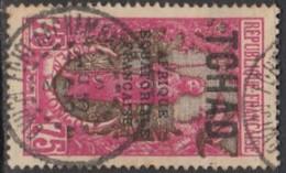 Tchad - N° 43 (YT) N° 51 (AM) Oblitéré De Fort-Archambault (1935). - Usati