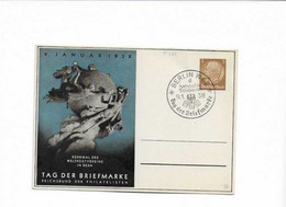 Ganzsachenkarte 1938 - Brieven En Documenten