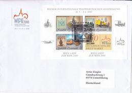 Austria Österreich 2000- WIPA Kleinbogen Block 14 Used - 1991-00 Storia Postale