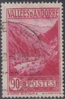 Andorre Français - N° 38 (YT) Oblitéré. - Used Stamps