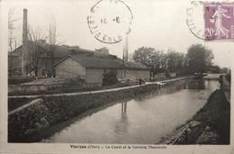 Le Canal Et La Verrerie Thouvenin - Vierzon