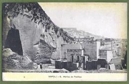CPA Dos Précurseur, Vue Rare - ITALIE - NAPOLI - S. MARTINO DA POSILLIPO - - Napoli (Naples)