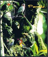 Bloc Sheet Oiseaux Perroquets Birds Parrots Neuf  MNH **  St Kitts 2005 - Parrots