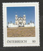 Personalisierte BM UNESCO - Weltkulturerbe Wallfahrtskirche Bom Jesus De Matosihos Brasilien ** Postfrisch - Private Stamps