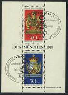 Block 9 IBRA München 1973 Mit ESSt Bonn 5.4.1973 - Ohne Zuordnung