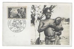 44 SM - SALON DE LA MARINE 1943 - Carte Maximum Avec N°543 Quinzaine Impériale  - Cachet à Date 23 Juillet 1943 - Posta Marittima