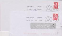 Toshiba 08870A-02 La Poste à La Place De France En Seconde Ligne Après La Date  La Mention PR FRANCE - Mechanical Postmarks (Other)