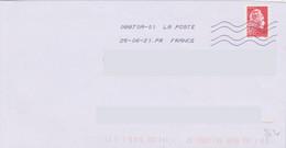 Toshiba 08870A-01 La Poste à La Place De France En Seconde Ligne Après La Date  La Mention PR FRANCE - Mechanical Postmarks (Other)