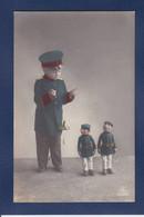 CPA Poupée Doll Enfant Garcon Militaria Non Circulé - Games & Toys