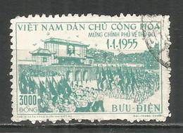 Vietnam 1956 , Used Stamp Mi 38 - Vietnam
