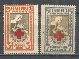 Estonia 1921 Mint Stamps MNH(**) Mi.29-30A - Estonia
