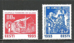 Estonia 1993 Mint Stamps MNH (**)  Mich.# 216-17 - Estonia