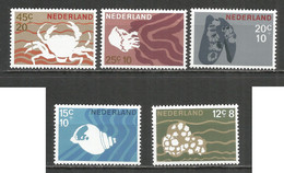 NETHERLANDS 1967 Year , Mint Stamps MNH (**) - Unused Stamps