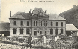 15 - SAINT-PONCY - Mairie Et Maison D'Ecole (impeccable) - Other Municipalities