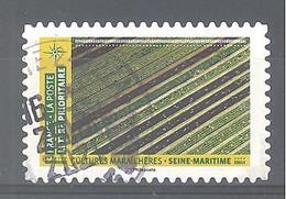France Autoadhésif Oblitéré N°1951 (Mosaïque De Paysages - Cultures Maraîchères Seine-Maritime) (cachet Rond) - Oblitérés