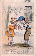 Fantaisie -  Illustrateur M. Jacobs - Style G. Bouret - Le Fruit Défendu , Goute Le Mieux - Autres Illustrateurs
