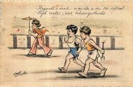 Fantaisie -  Illustrateur M. Jacobs - Style G. Bouret - Regarde à Droite  Ce Qu'elle A Du Sex-appeal - Autres Illustrateurs