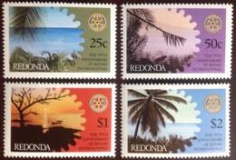 Antigua Redonda 1980 Rotary MNH - Altri