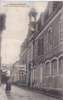 47 VILLENEUVE Sur LOT Hôpital Des Dames De France N° 106 , Banderolle Union Des Femmes De France Avec Croix Rouge 1915 - Villeneuve Sur Lot