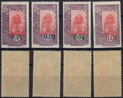 COTE DES SOMALIS Poste 108 109 110 ** MNH 111 * MLH Femme Somali Avec Surcharge 1922 - Unused Stamps