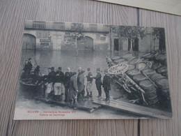 CPA 34 Hérault Béziers Inondations Novembre 1907 Radeau De Sauvetage - Beziers