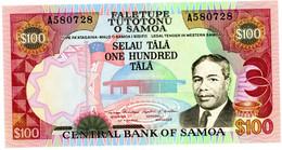 Samoa 100 Tala 1990 ND PREFIX A P 30 UNC - Samoa