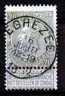 """BELGIE - OBP Nr 59 - """"ÉGHEZÉE"""" - (ref. ST 1718) - 1893-1900 Thin Beard"""