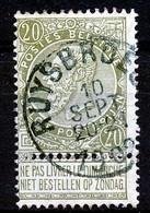 "BELGIE - OBP Nr 59 - ""RUYSBROECK"" - (ref. ST 1719) - 1893-1900 Thin Beard"