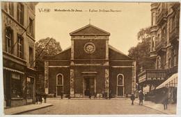 Molenbeek-Saint-Jean - Eglise Saint-Jean-Baptiste - 1ère Pierre Placée En 1834 - Démolie En 1932/33 - Non Postée - Molenbeek-St-Jean - St-Jans-Molenbeek