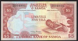Samoa 5 Tala 2002 ND Prefix D 1 Signature P 33 Kid School Study UNC - Samoa