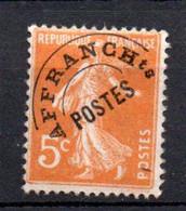 W-19 France Préo N° 50 **   à 10 % De La Côte . A Saisir !!! - 1893-1947