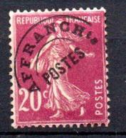 W-19 France Préo N° 55 **   à 10 % De La Côte . A Saisir !!! - 1893-1947