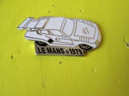PIN'S   24 HEURES DU MANS  1979     PORSCHE  935   Email Grand Feu  Argenté - Porsche