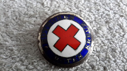 Anstecker Brosche DRK Deutsches Rotes Kreuz Deutsches Reich Dienstbrosche - 1939-45