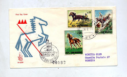 Lettre Fdc 1966 Equitation - FDC