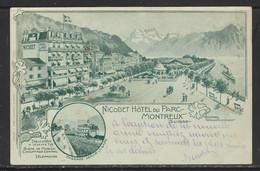 Carte P ( Montreux / Nicodet Hôtel Du Parc ) - VD Vaud