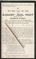 Voormezele, Reninghelst, 1929, August Poot, Kinget - Santini