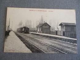 Buire Sur Ancre   La Gare - Autres Communes