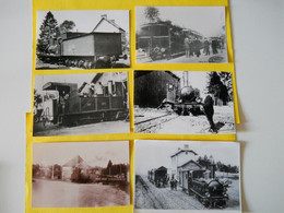 Photos , TRAMWAY Et Gares ORNE , Collection Bourneuf , Argentan ,Carrouges ,Tinchebray .... - Trains