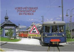 704 - Tramway Du Mont-Blanc, En Gare Du Fayet - Saint-Gervais (74) - - Stations With Trains