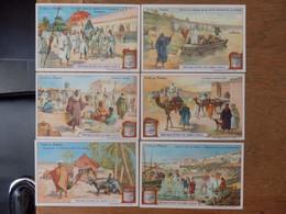 """(31)   Lot De 6 Chromos """"Villes Du Maroc""""  Liebig - Liebig"""