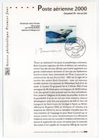 - Notice Philatélique Premier Jour PARIS 12.2.2000 - Poste Aérienne - Avion Couzinet 70 - Arc-en-Ciel - - Avions