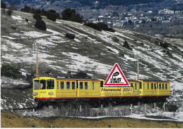 706 - Automotrices Z 109 Et 113 Du Canari, Vers Odeillo-Via (66) - - Trains