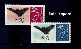 NOUVELLE CALEDONIE (New Caledonia)-  Timbre Personnalisé - Poisson Raie Léopard - Fish Eagle Ray - 2020 - Neufs