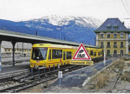 707 - Automotrices Stadler Z 151 Et 152 Du Canari, à Latour-de-Carol (66) - - Stations With Trains