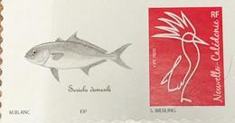 NOUVELLE CALEDONIE (New Caledonia)- Timbre Personnalisé - Poisson - Fish - 2020 - Neufs