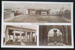 """Deutsches Reich 1936, Postkarte """"Der Königliche Platz"""" MÜNCHEN Sonderstempel - Lettres & Documents"""