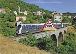 708 - Autorails AMG 813/814 Et 807/808 à Venaco (2B) - - Trains