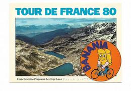 R 37 TOUR DE FRANCE 80 PUB BANANIA ETAPE  MORZINE PRAPOUTEL - Cycling